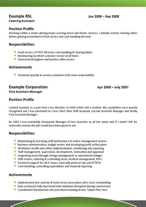 resume objective statement for restaurant management best hospitality resume templates sles writing resume sle writing resume sle