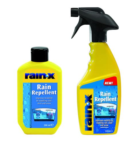 Rainx Rain Repellent  Product Information