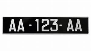 Numéro De Plaque D Immatriculation : plaque d 39 immatriculation noire comment s 39 en procurer une ~ Maxctalentgroup.com Avis de Voitures