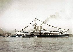 Ladario Led by The Ironclad Riachuelo 1885