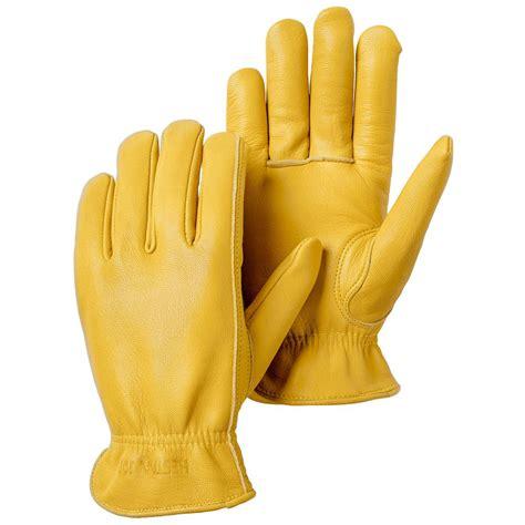 Hestra JOB Goatskin Drivers Size 8 Tan Leather Gloves