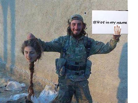 'not In My Name' Islams Campaign Of Disinformation And