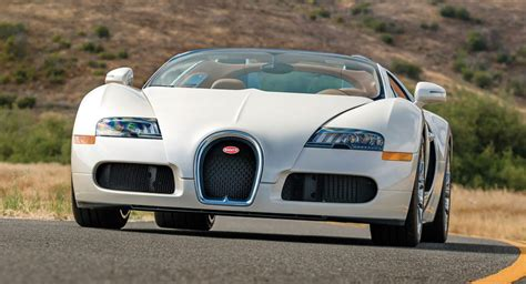 After setting the world record for the fastest serial production car with the veyron and producing it for 10 years, the chiron had to become an even more advanced. Sleek All-White Bugatti Veyron Grand Sport En Route To Auction
