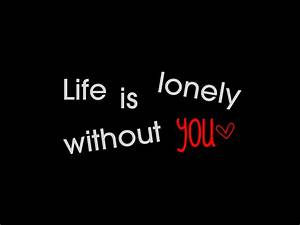 Lonely Without You Quotes. QuotesGram