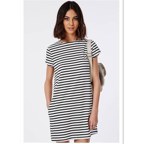 t shirt dresses boxy womens stripe t shirt dress in bulk buy stripe t