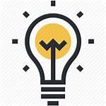 Icon Creative Innovation Idea Bulb Mind Creativity