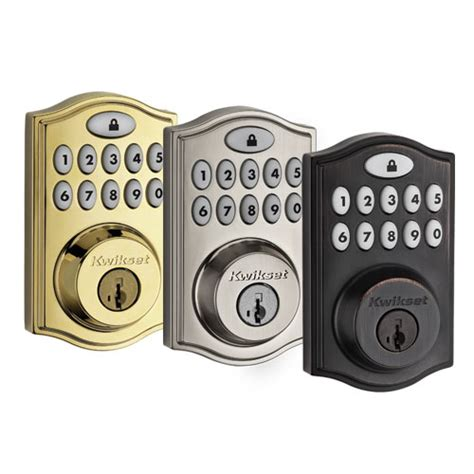 adt pulse door lock adt pulse deadbolt model 99140 made by kwikset 11 button 249
