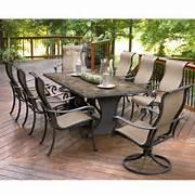 Garden Dining Sets Asda by Agio International Panorama 9 Pc Patio Dining Set Sears