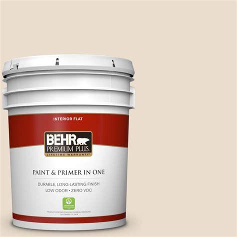 home depot interior paint behr premium plus 5 gal 23 antique white flat interior