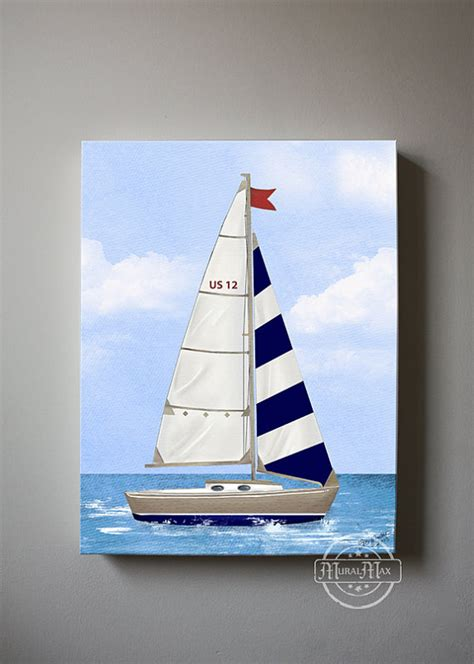 Sailboat Wall Decor Nursery by Nursery Nautical Sailboat Baby Nursery Room Decor