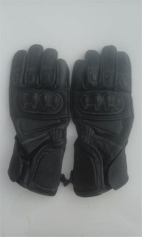 jual sarung tangan kulit ep hitam di lapak irwan irones