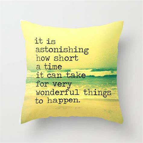 Decorative Quotes - decorative pillows with quotes quotesgram