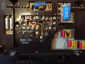 Replacing Honeywell T8611r1000 With Th8320zw
