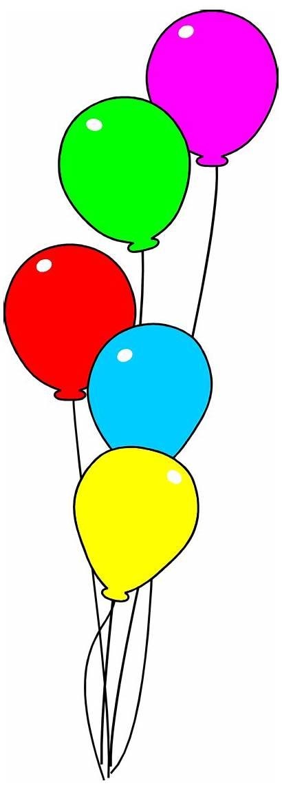 Balloons Clipart Background Balloon Clip Transparent Birthday