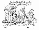 Coloring Pages Park Children Wheelchair Railroad Irvine Easter Train Christmas Grade California Pavilion 4th Template Irvineparkrailroad Rides Special History Webcomicms sketch template