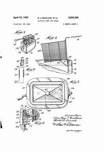 Patent Us2593392 - Electric Deep Fat Fryer
