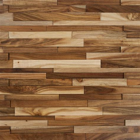 wood flooring wall nuvelle deco strips wheat 3 8 in x 7 3 4 in wide x 47 1 4 in length engineered hardwood wall