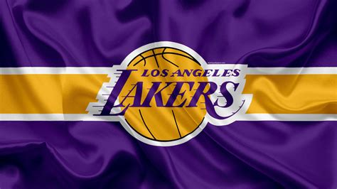 Lakers Logo In Dark Purple Background Basketball HD Sports ...
