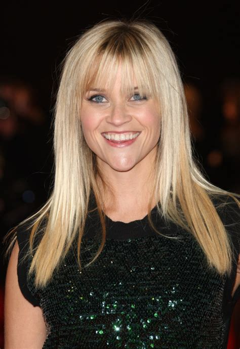 different styles of bangs for hair the different reese witherspoon hairstyles with bangs 8623