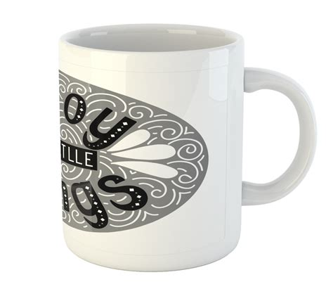 See more ideas about coffee cup design, cup design, coffee cups. Ambesonne Inspiration Ceramic Coffee Mug Cup for Water Tea Drinks, 11 oz | eBay