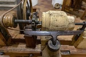 Ancient Lathe Stock Image  Image Of Machinist  Lathe