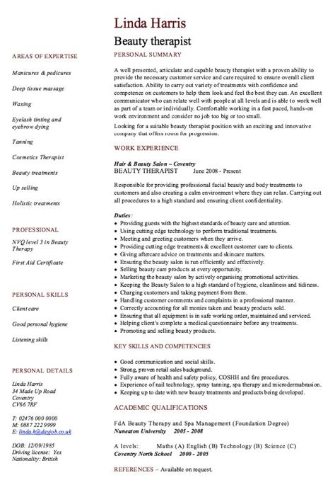 beauty therapist resume sample event planner resume