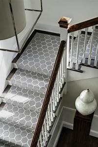 Le tapis pour escalier en 52 photos inspirantes for Tapis pour escalier interieur