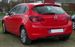 Opel Astra J by Opel Astra J