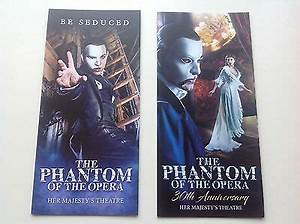 2 x different flyer THE PHANTOM OF THE OPERA 2017 • £1.50 ...