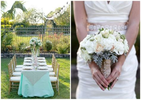 mint green wedding decoration ideas for your inspiration