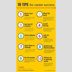 Career Success  Top Ten Tips To Help Advance In The Workforce