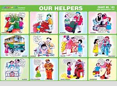 Spectrum Educational Charts Chart 183 Our Helpers