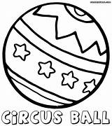 Ball Pages Colouring Crystal Template Coloring sketch template