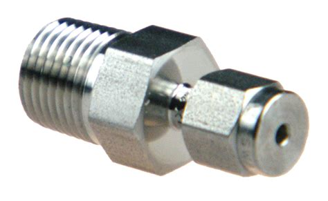 connector swagelok connector 1 16 to 1 8 npt taper swagelok ss