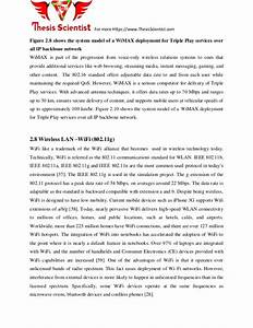 Mobile wimax thesis