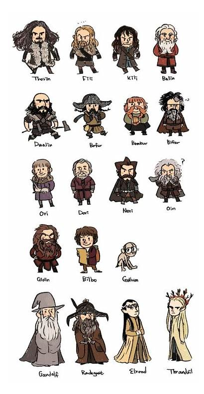 Hobbit Chibi Lotr Gandalf Radagast Lord Rings