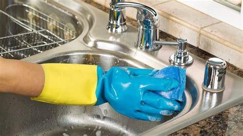 clean  kitchen sink angies list