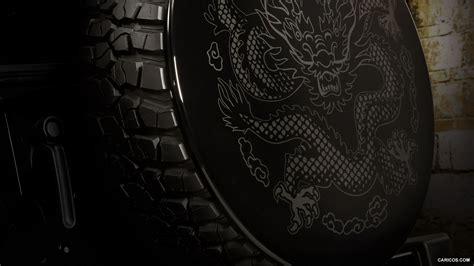 2012 Jeep Wrangler Dragon Design Concept Spare Tire Cover