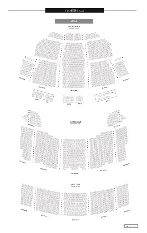 bushnell center   performing arts seating charts