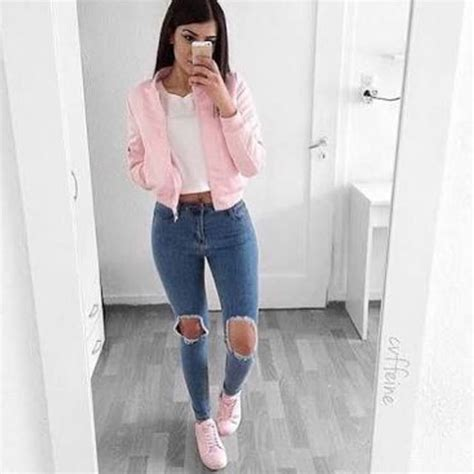 7 cute teen girls school outfits for spring - Page 5 of 7 ...