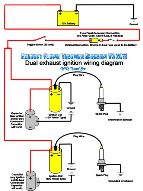 wiring diagram from distributor to spark for firing order