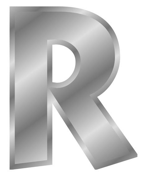 silver letters png letter   gold clip art library