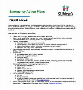 emergency action plan template 8 free sample example With emergency plan template for schools