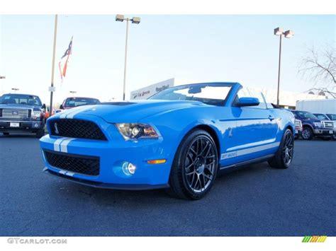 Grabber Blue 2018 Ford Mustang Shelby Gt500 Svt