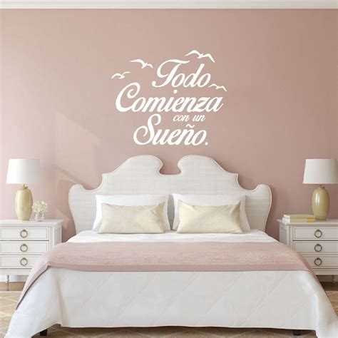 stickers citations chambre quote vinyl wall stickers bedroom wall decals