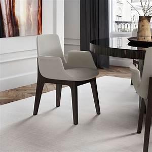 Modloft, Mercer, Modern, Silver, Birch, Fabric, Dining, Chair