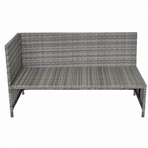 Rattan Lounge Grau : rattan lounge nevada grau ~ Watch28wear.com Haus und Dekorationen