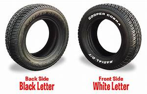 cooper cobra radial gt raised white letter tire With cooper cobra raised white letter tires