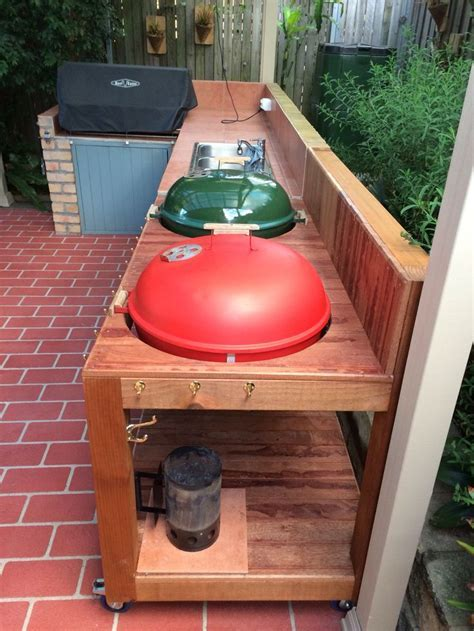How To Build A Weber Grill Table   WoodWorking Projects