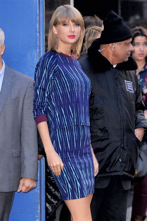 TAYLOR SWIFT Arrives at Good Morning America in New York ...